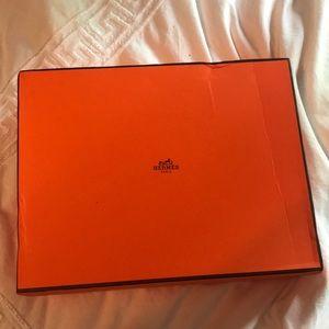 🍊Hermes Orange H Slide Sandals 🍊